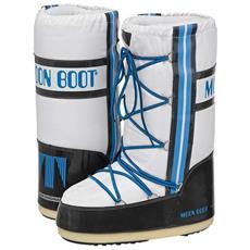Doposci Moon Boot Training Unisex 39/41 Bianco Azzurro