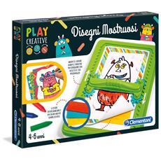15263 - Play Creative - Disegni Mostruosi