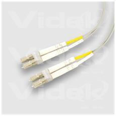 62.5/125 OM1 LC - LC Duplex Fibre Optic Cable 0.5Mtr 0.5m LC LC cavo a fibre ottiche