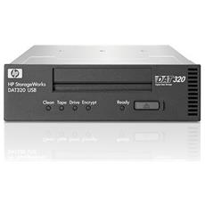 Tape Drive DAT 320 HP - 160 GB (Nativi) / 320 GB (Compressi) - 133,35 mm Larghezza - 1/2H Altezza - Interno - 12 MBps Native - 24 MBps Compressed - Helical Scan