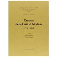 Cronaca della citt� di Modena (1512-1518)