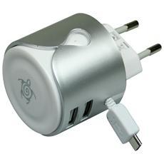 Caricabatterie da 2.4 con 2x USB 2.0