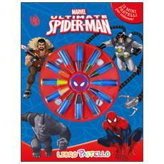 Ultimate Spider-Man. Libro pastello. Ediz. illustrata. Con gadget