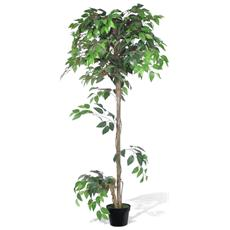 Albero Ficus Artificiale Con Vaso 160 Cm