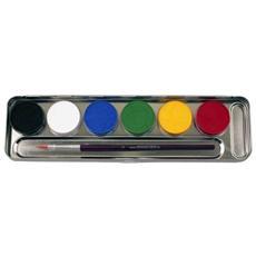6 Colori Tonalita'base Per Trucco Ed Effetti Fx 206003