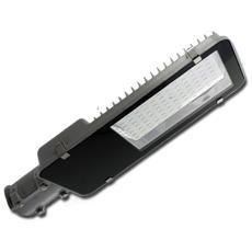 Armature Stradali Led Smd Street Light Grigio 100w = 900w Ip65 Luce Fredda 6000k Vt-15115st 5481
