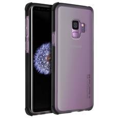 Cover Galaxy S9 Bumper Traslucido Antishock Anticaduta 3.7m - Nero