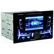 """Autoradio RDS FM / FM Stereo PLL Monitor 4"""" TFT LCD Bluetooth RICONDIZIONATO"""