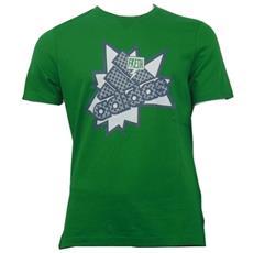 T-shirt Uomo Lpm Logo Tee Verde S