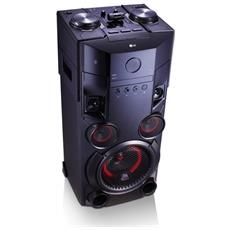 Home audio mini system 500W Nero
