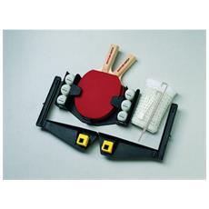 - Set Per Ping Pong Completo (2 Racchette, 6 Palline, 1 Rete Vario)