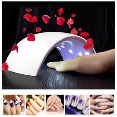 Lampada Uv 15 Led Ricostruzione Sun Unghie Mani Piedi Nail Art Con Timer 40w Q5