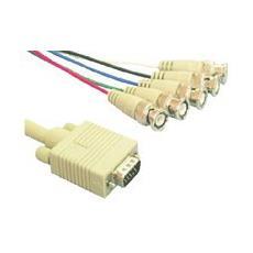 VGA5BNC, 2m, VGA (D-Sub) , 5 x BNC