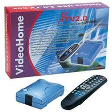 (ct138) Video Home Usb 2.0 Tv Box Con Telecomando