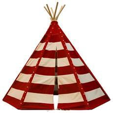 Tenda Teepee Lumo Con Led Rosso E Bianco C052.103.05