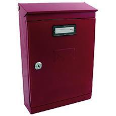 Cassetta Postale 'evoluzione' - Rosso