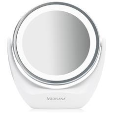 Specchio Da Trucco 2-in-1 Cm 835 12 Cm Bianco 88554