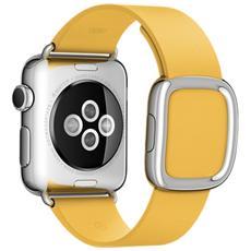 Cinturino Moderno da 38 mm per Apple Watch Colore Giallo Marigold - Large