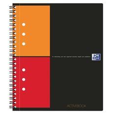 pz. 1 Blocco spirale Activebook A5+ 5 mm c / m riq. 100102880