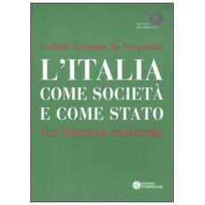 L'Italia come società e come Stato. Un'identità culturale