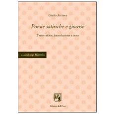 Poesie satiriche e giocose
