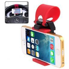 Supporto Da Volante Fissaggio Elastico Per Smartphone E Dispositivi Elettronici Regolabile