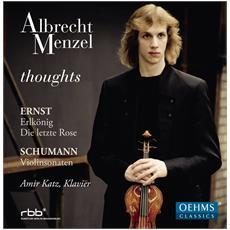 Menzel / katz - Schumann / ernst / thoughts