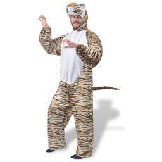 Costume Di Carnevale Da Tigre Multicolore Xl-xxl