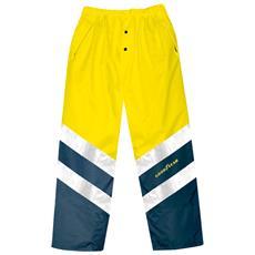 Pantalone Ad Alta Visibilità Goodyear Colore Giallo E Blu Taglia 2xl