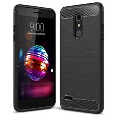 Custodia Cover Tpu Silicone Per Smartphone Lg K10 (2018)