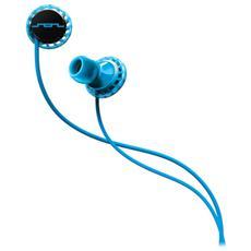 Relays Sport, Stereofonico, Interno orecchio, Blu, Cablato, Intraurale