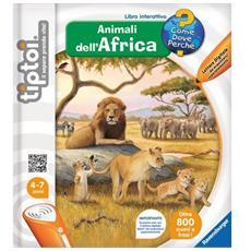Libro interattivo Animali dell'Africa