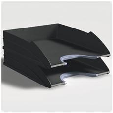 vaschetta portacorrispondenza vegas nero durable