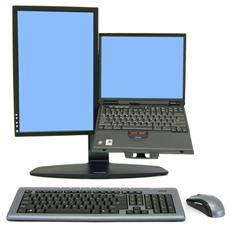 Neo-Flex Combo Lift Stand - Supporto per display LCD / notebook