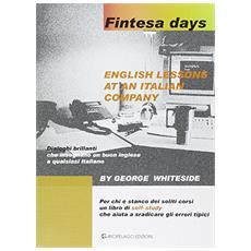 Fintesa days. English lessons at an italian company