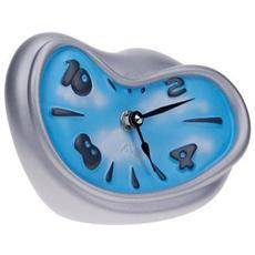 Orologio da tavolo ''Schiaccio'' in resina decorata a mano Meccanismo al quarzo tedesco UTS Dimensione cm 17x12x8 Colore