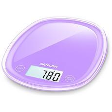 Bilancia Digitale da Cucina Portata 5 Kg Colore Viola