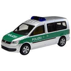 52706 Vw Caddy Maxi 11 Polizei 1/87 Modellino