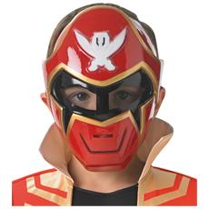 Maschera Rossa Per Bambino Power Rangers Super Mega Force Taglia Unica