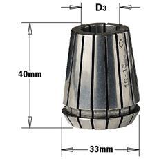 "Pinza Elastica """"er-32"""" (mm33x40) D=6.35mm (1/4') 184.065.00"