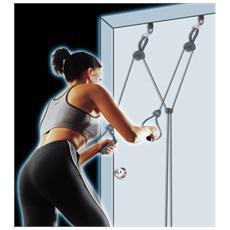Door Gym attrezzo multifunzione a resistenza elastica