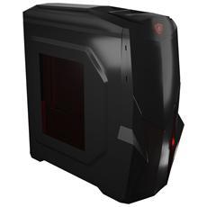 Case Mars Gaming MC416 Middle Tower ATX Colore Nero con Finestra
