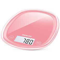 Bilancia Digitale da Cucina Portata 5 Kg Colore Rosso