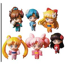 Figura Sailor Moon Petit Chara Trading Figure 6 Pack Let S Go To Festival 6 Cm