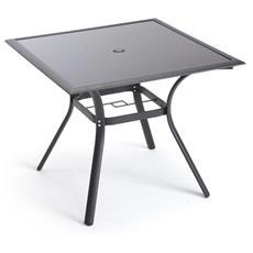 Tavolo Per Esterni Quadrato Nero