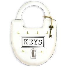 caso chiave 'mega cadenas' avorio (6 tasti) - 23x35 cm - [ m9058]