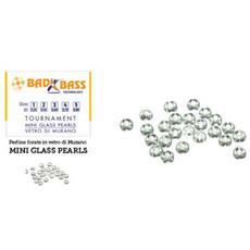 Tournament Mini Glass Pearls Mis. 3
