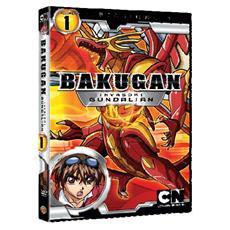 Dvd Bakugan-invasori Gundalian-st. 01 #01