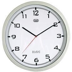 Orologio Da Parete 35 Cm Om 3310 Silver