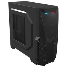 Case MC316 Middle Tower ATX Nero con Finestra